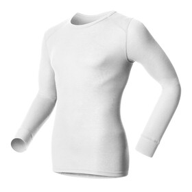 Odlo Men Shirt l/s crew neck WARM white